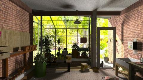 potting shedStorage - Rustic - Garden  - by katmills98