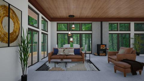 pine tree room - Country - Living room - by jammuek