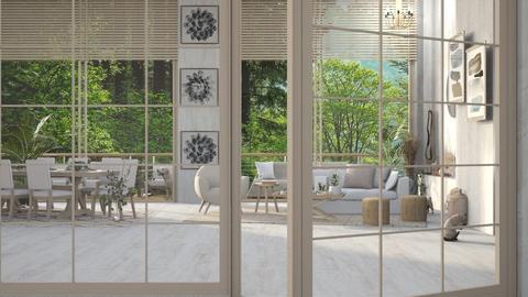 Oak LR - Modern - Living room  - by KittyT6