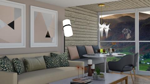 Carson - Living room - by aletamahi