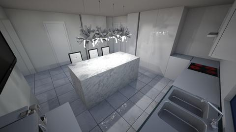 Kitchen island 02 - Kitchen  - by lattys00