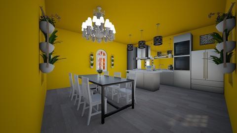 idek - Modern - Kitchen - by roomdesigner1245