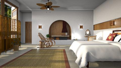 Feng Shui Bedroom - by BugsBunny24