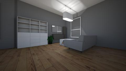 flat - Minimal - Living room  - by szuszuemil