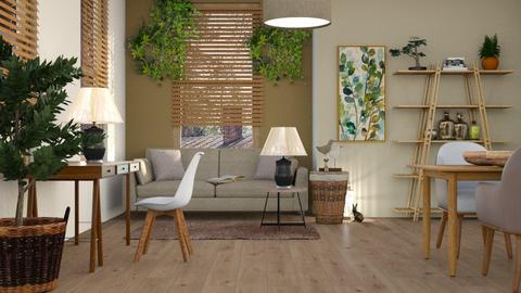 ARTISAN FLOORING template - Living room  - by ZuzanaDesign