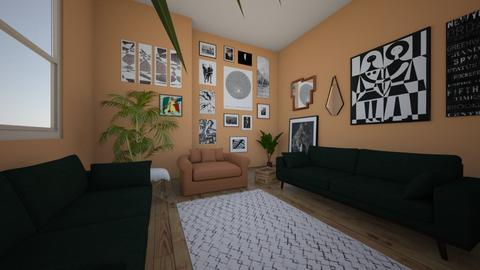 ARTIST LIVING - Living room - by juliajoyom