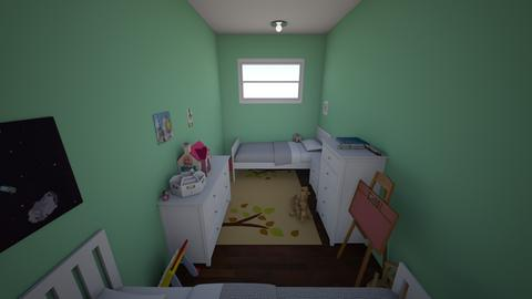 toddlerTwin jungle castle - Modern - Kids room  - by jade1111