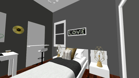 dream room - Modern - Bedroom  - by AshleyRowland01