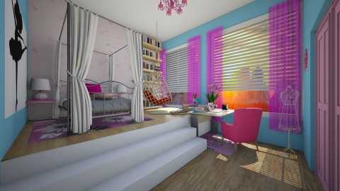 ready 4 princess - Kids room  - by seldina