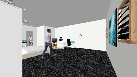 Jordans  bedroom - by Jordan V