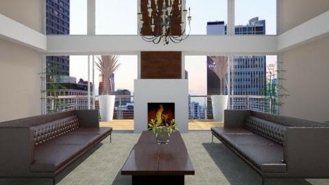 Symmetrical - Classic - Living room - by facundo