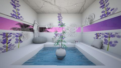 patisserie garden - Bathroom  - by seasidestarfish