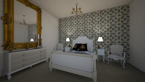 baroque bedroom - Glamour - Bedroom  - by AS 04