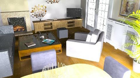 yaya's living room - Modern - Living room - by ipathia