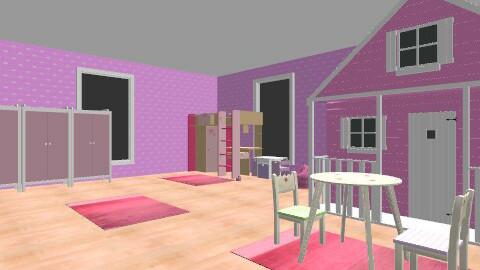 lány gyerekszoba - Classic - Kids room  - by Fannika