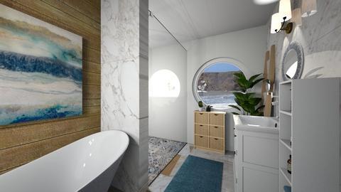 Beach Bathroom - Bathroom  - by smhewitt
