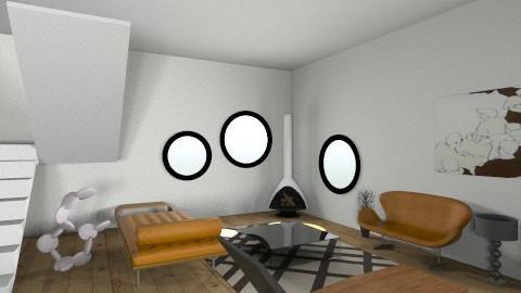 living room dd - Minimal - Living room  - by deedy saleh