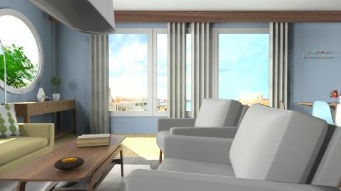 My LR 12 - Vintage - Living room  - by pixelon
