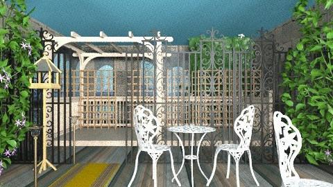 urban indoor garden - Modern - Garden  - by evakiew