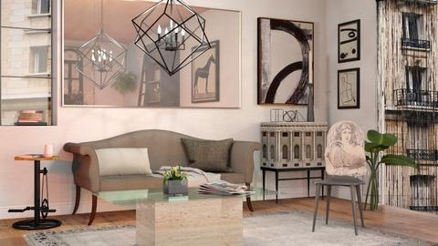 The Royal Chandelier - Eclectic - Living room  - by Sally Simpson