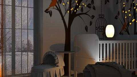 Nature Baby room 1 - Kids room  - by Thierry Smith