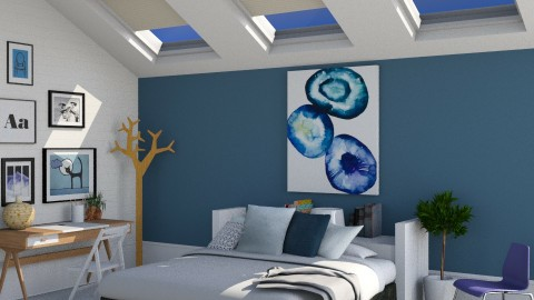Starry Night - Modern - Bedroom  - by Musicman