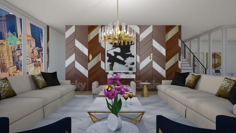 157 EAST - Living room - by flacazarataca_1