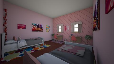 monocromatic room  - Bedroom  - by mak1616