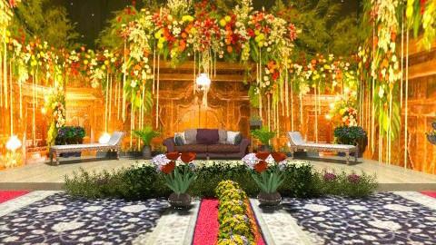 Javanese wedding - Glamour - Living room  - by Ulie