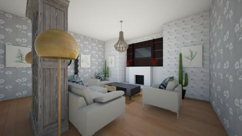 Family man him livingroom - Modern - Living room - by callumip9