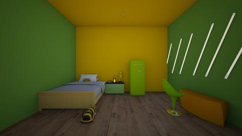 tubbos room - Bedroom  - by crying_room