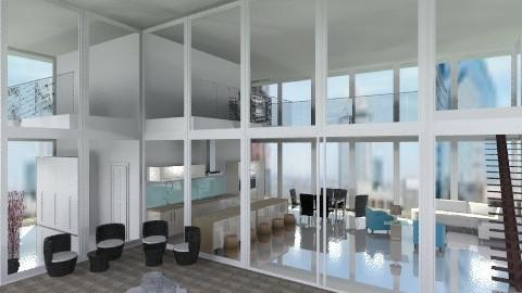Glass House - Modern - by BriaFaith