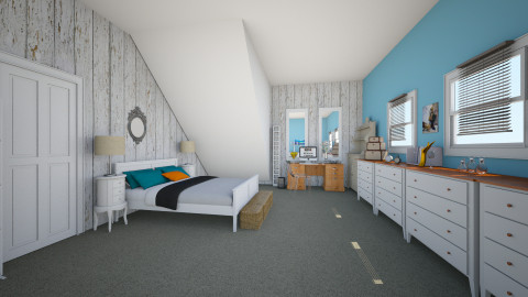 vintage project - Vintage - Bedroom  - by oliwiaoliwia