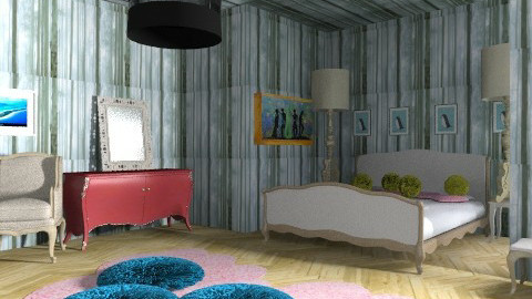 French - Classic - Bedroom  - by prissy