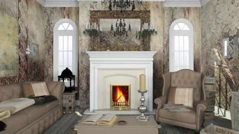 Dimitri  - Rustic - Living room  - by deleted_1566988695_Saharasaraharas