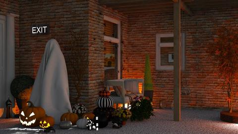 Frightening Front Porch - by TropicalLands
