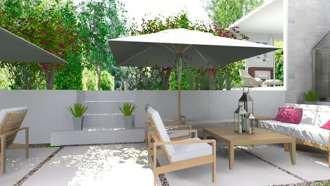 Modern Patio - Modern - Garden  - by Baustin