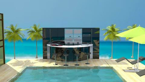 beach bar - Eclectic - Kitchen  - by leendave