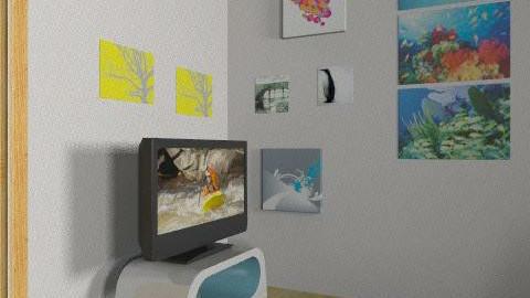 dolgozószoba - Eclectic - Office  - by Bobe98
