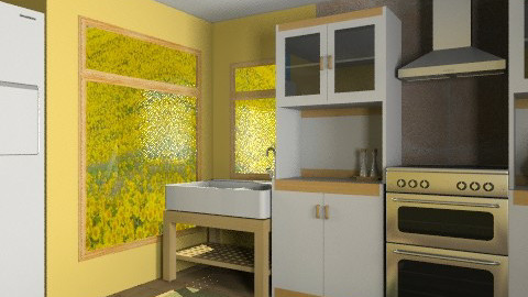 Yellow Kitchen - Country - Kitchen  - by AGaal