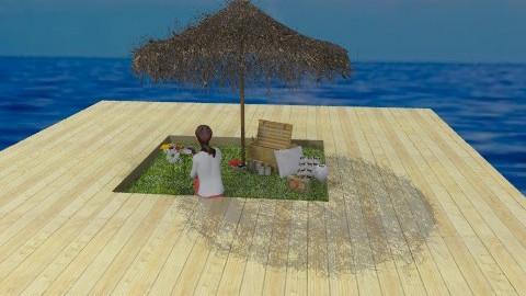 floating picnic - Classic - Garden  - by kadee1111