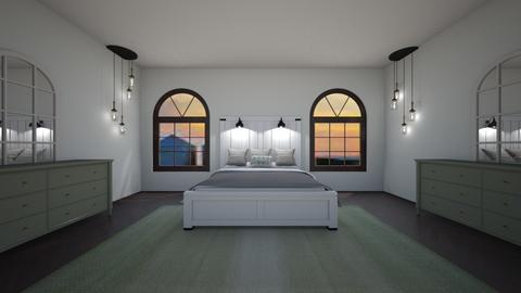 Sage bedroom - Glamour - Bedroom  - by BaylorBear