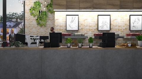 Cafe - by lilyamc
