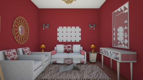 LIVING 2 - Living room - by shivani dobhal