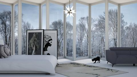 Winter Wonders - Bedroom  - by designkitty31