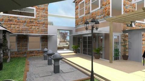 outdoor balcony2 - Classic - Garden  - by inniunni