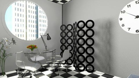 small space decor office  - Eclectic - Office  - by tooba