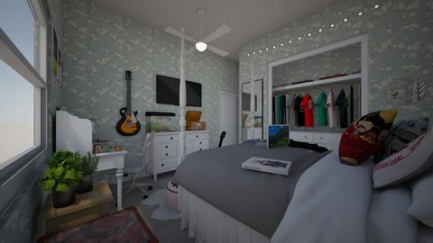 MyDreamRoomLayoutOfGuestR - Retro - Bedroom  - by jade1111