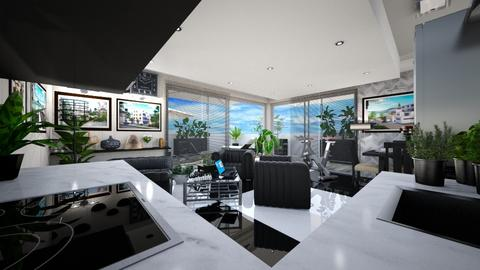 Beach Residence 2 - Modern - Living room  - by iamthearchitect
