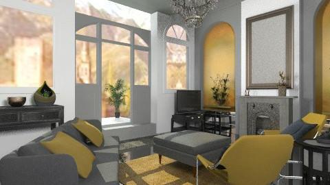 Small luxury - Glamour - Living room  - by mrschicken